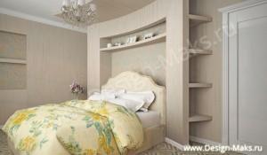 Дизайн спальни проект