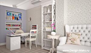 Дизайн проект салона
