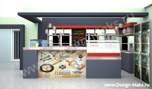 Дизайн проект барной стойки