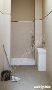 Дизайн проект  подсобного помещения