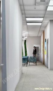 Дизайн проек холла
