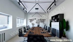 Дизайн  переговорного кабинета